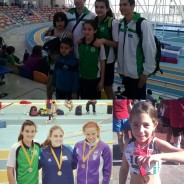 Grans resultats al Campionat de Catalunya Infantil en Pista Coberta