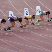 8ª posició d'Andrea Abalos als 100m.ll. del Campionat de Catalunya Absolut al Aire Lliure