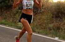 Cristina Rebull Sots-Campiona de Catalunya W-45 de Mitja Marató