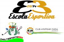 El Club Atletisme Olesa i la A.Multiesports DIMA acorden l'ús del menjador per la EE2014.