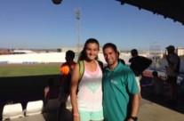 Olga Morraja 6a classificada al Campionat d'Espanya Cadet de pista al Aire Lliure