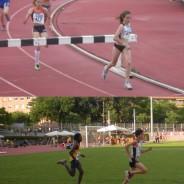 Dani Sánchez 2n als 5km d'Igualada i Llordella i Cerdeira classificats per la Final de l'Autonòmic Infantil de pista al Aire Lliure
