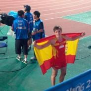 Noel Del Cerro, Campió Olímpic de la Joventut a la prova de Salt amb Perxa