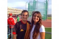 Olga Morraja, 1a classificada al Llançament de Disc del Campionat d'Espanya Cadet per Clubs