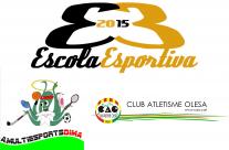 El C.A.Olesa i la A.Multiesports DIMA renoven l'acord de l'ús del menjador per la EE2015