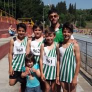 L'escola d'Atletisme molt activa aquest mes de Maig. Jornada Previa Campionat de Catalunya de Promoció.
