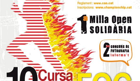 X CURSA DEL FOC – 26 DE JUNY 2016